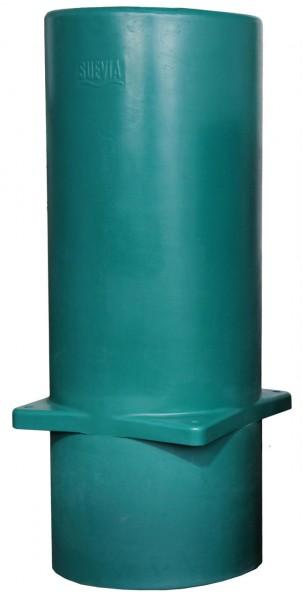 Suevia Thermo-Rohr für Montage v. Tränkebecken