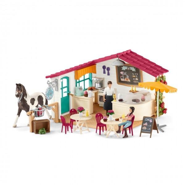 Schleich Reiter-Café - Spielfiguren