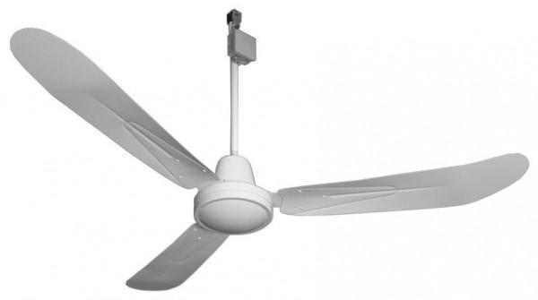 DECKEN-VENTILATOR gebogene Flügel, 69 cm