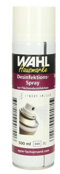 WAHL-Hausmarke Farbloses Desinfektionsspray 500 ml