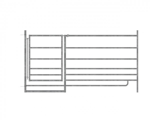 AKO Schafpanel mit Tor 1,83 x 0,92 m