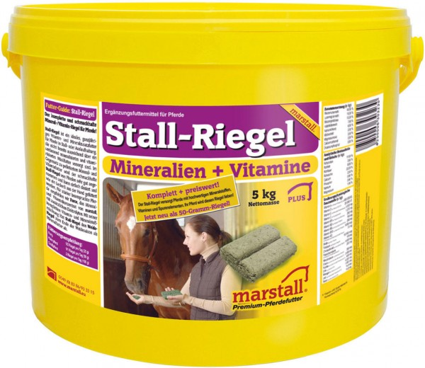 Marstall marstall Stallriegel - Pferdefutter 5 kg