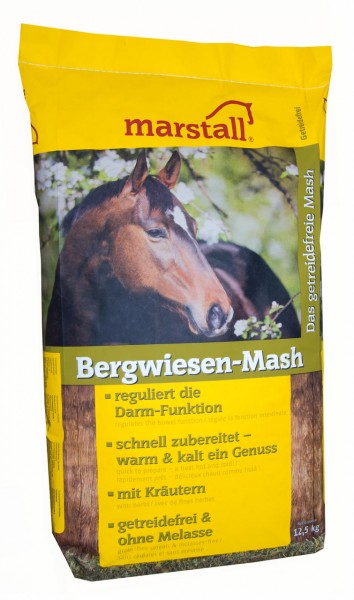Marstall marstall Bergwiesen-Mash 12,5 kg