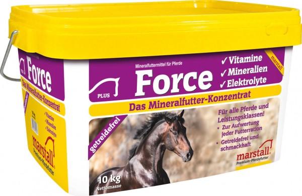 Marstall marstall Force - Pferdefutter 10kg Eimer