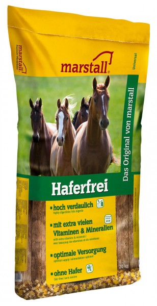 Marstall marstall Haferfrei - Pferdefutter 20 kg