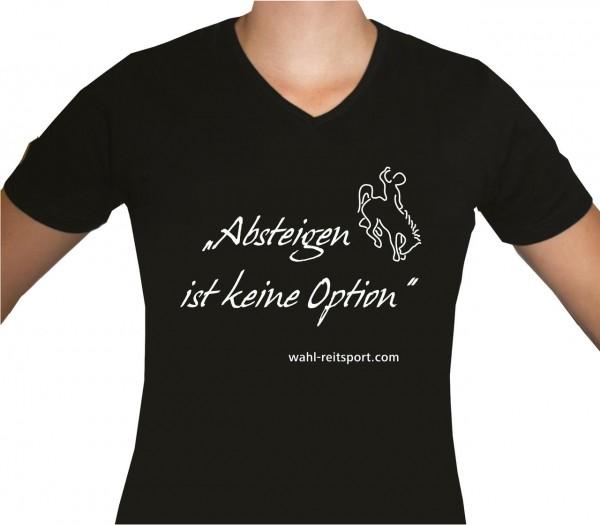 T-Shirt `Absteigen ist keine Option`