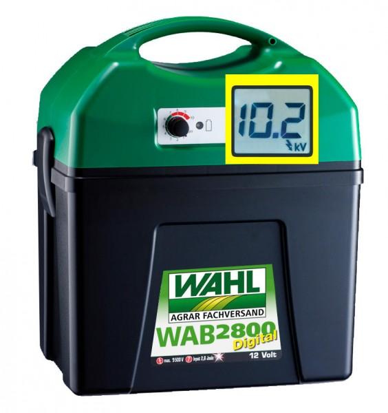 WAHL-Hausmarke WAB2800 - 12V-Batterie Weidezaungerät