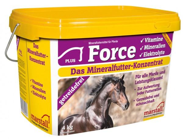 Marstall marstall Force - Pferdefutter 4 kg Eimer