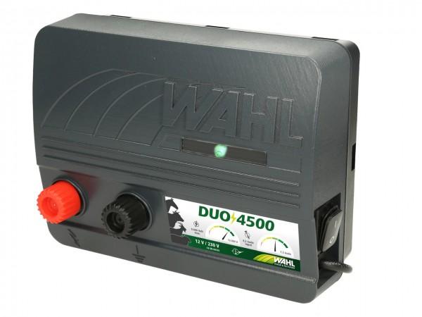 WAHL-Hausmarke DUO 4500 - 12 V / 230 V Weidezaungerät