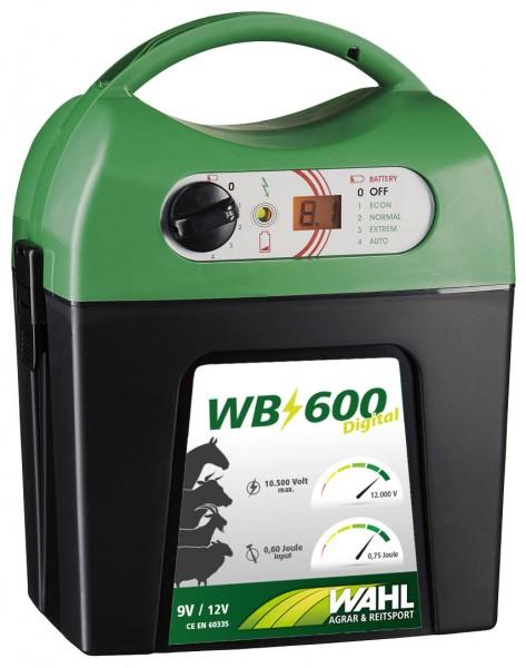 WAHL-Hausmarke WB 600 - 9 V-Batterie Weidezaungerät