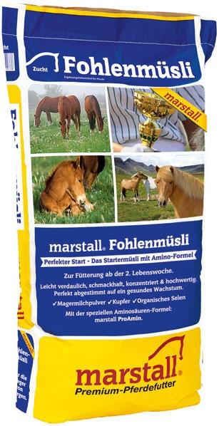 Marstall marstall Fohlenmüsli - Pferdefutter 20kg