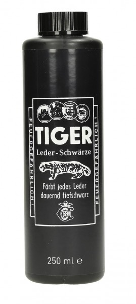TIGER-LEDERSCHWÄRZE 250 ml