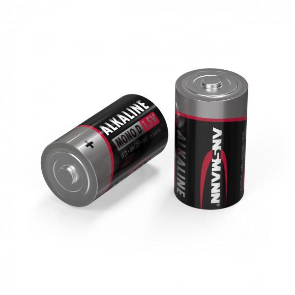 Ansmann Industrial Alkaline Batterie Mono D