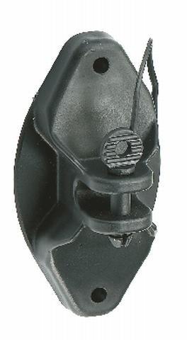AKO PIN-LOCK ISOLATOR für Holzpfahl, schwarz