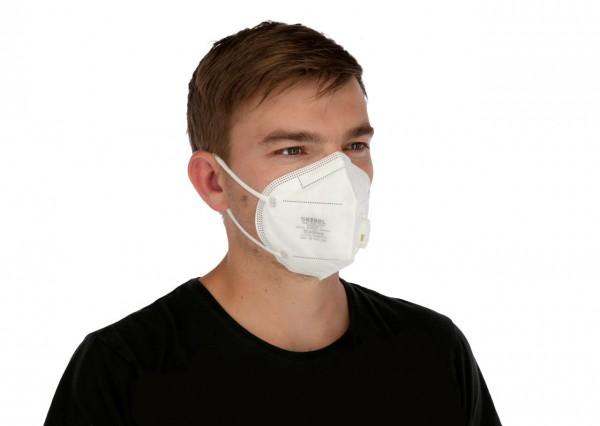 Atemschutzmaske SARS-Cov-2 mit Ventil