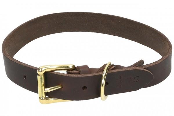 Halsband eingeflochten Schnalle und Ring