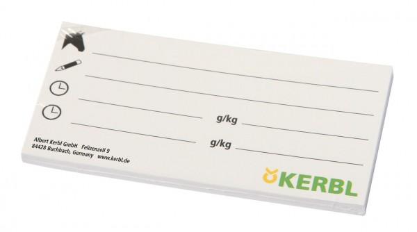 Kerbl Beschriftungskarten für Eimerabdeckung
