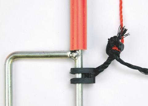 AKO Ersatzpfahl für 65cm Netz, 2 Spitzen