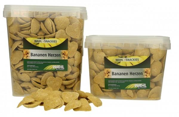WAHL-Hausmarke Bananen Herzen - ca. 2,5kg